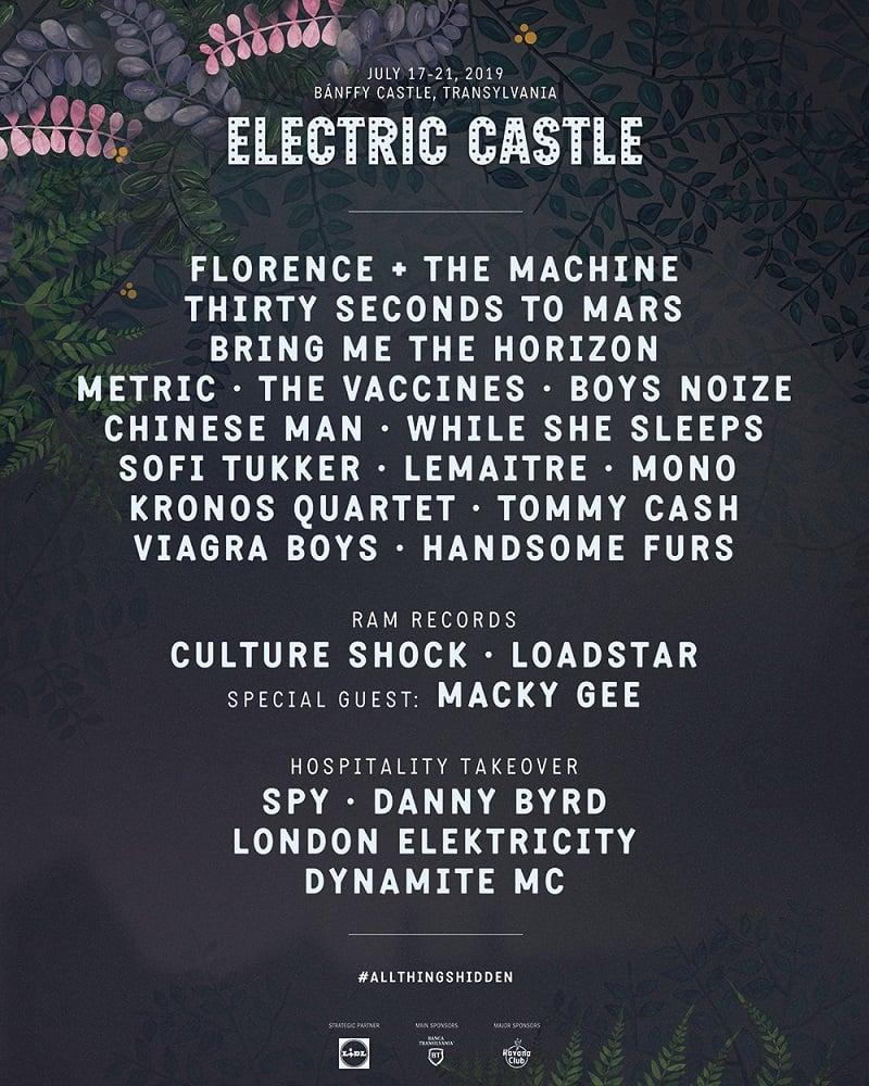 Electric Castle Festival anunță headliner-ii pentru ediția 2019