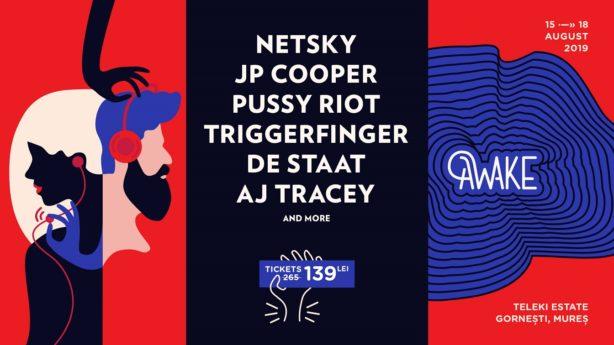 AWAKE  în 2019 aduce Pussy Riot pentru prima oara in Romania