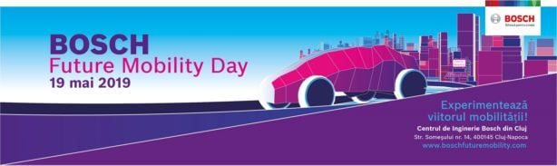 """""""Bosch Future Mobility Day"""", ediția a doua la Cluj Napoca"""