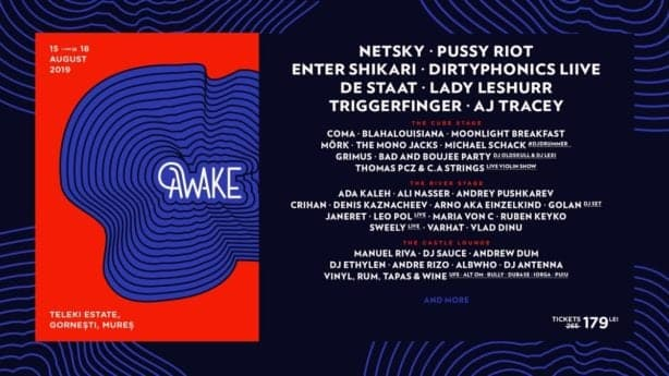 Noi artiști la Awake Festival 3: Enter Shikari, Coma și mulți alții