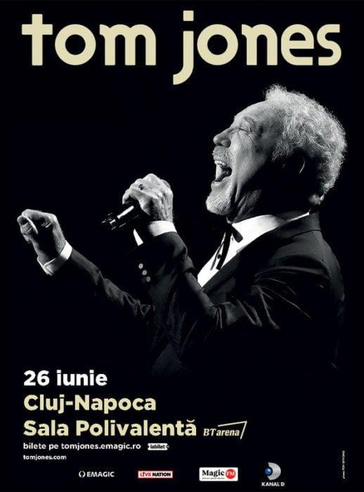 Tom Jones vine pentru prima data la Cluj-Napoca