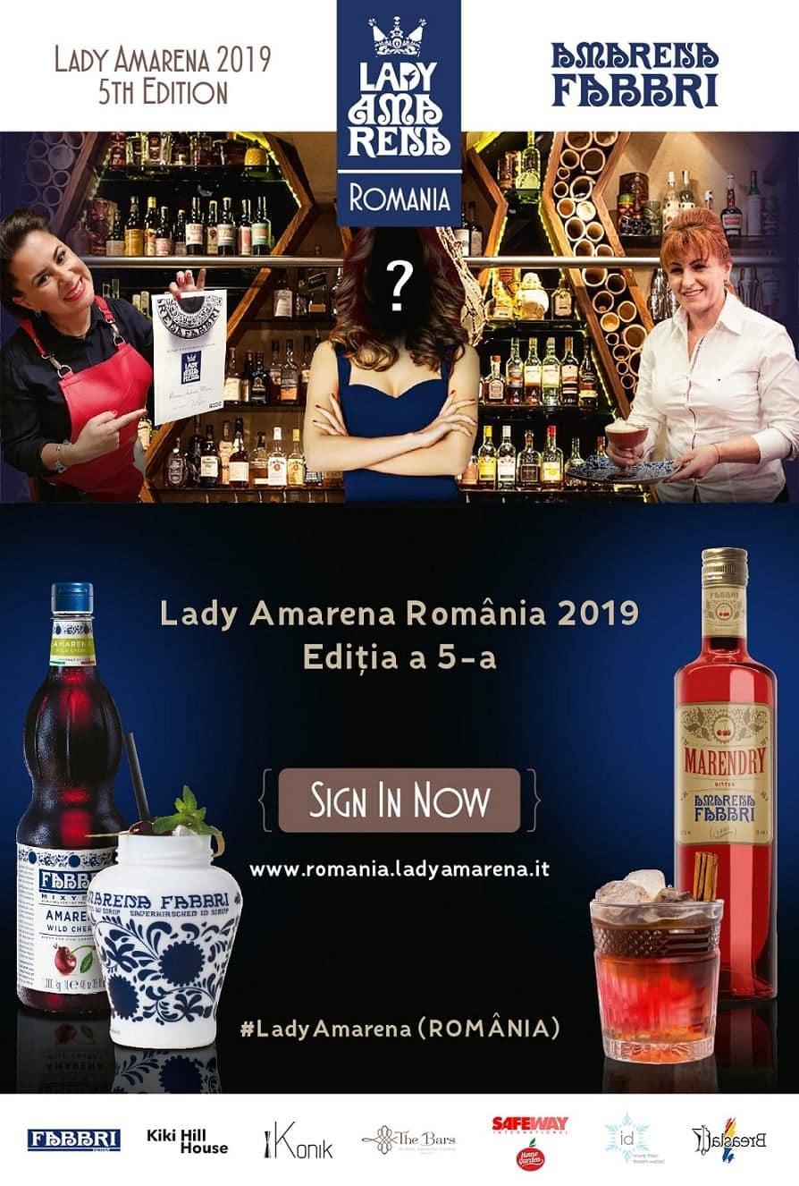 Lady Amarena - competiția destinată femeilor din spatele barului