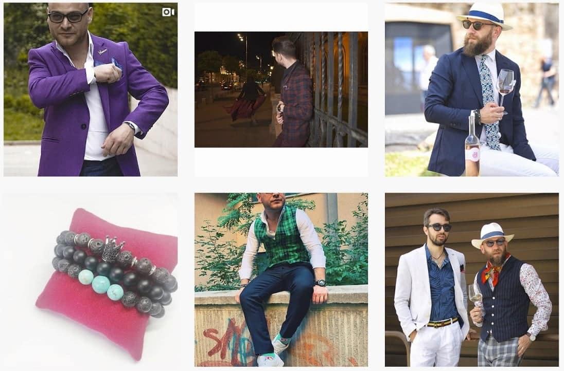tinute săptămânii 21 pe contul #stilmasculin Instagram