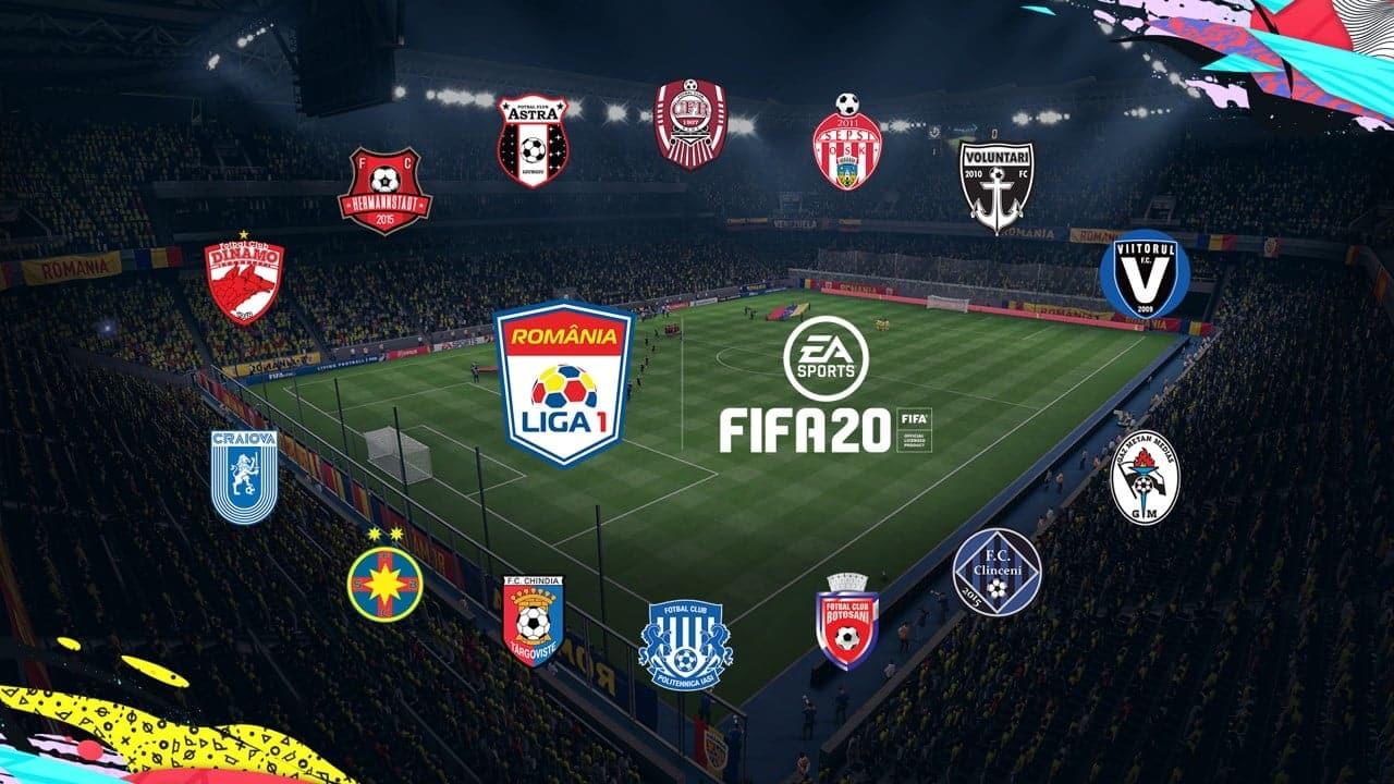 România în Fifa 20