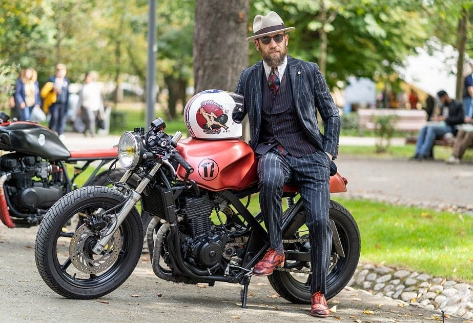 Moto Retro Cluj Stil Masculin distinguished gentlemans ride