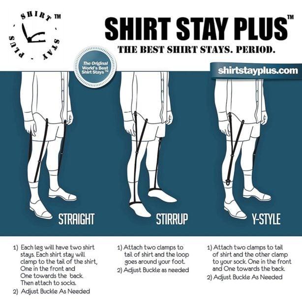 cămașa în pantaloni