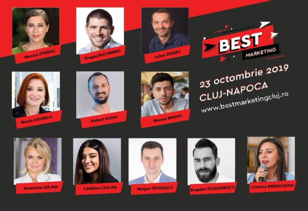 Conferința Best Marketing Cluj 2019 speakeri