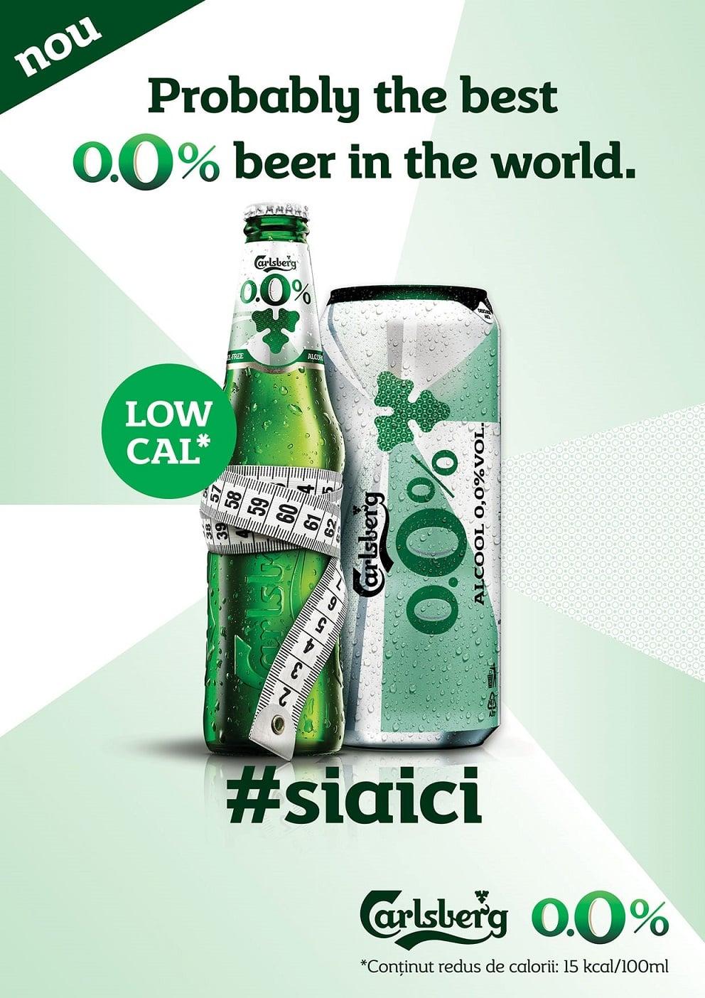 Carlsberg bere fără alcool