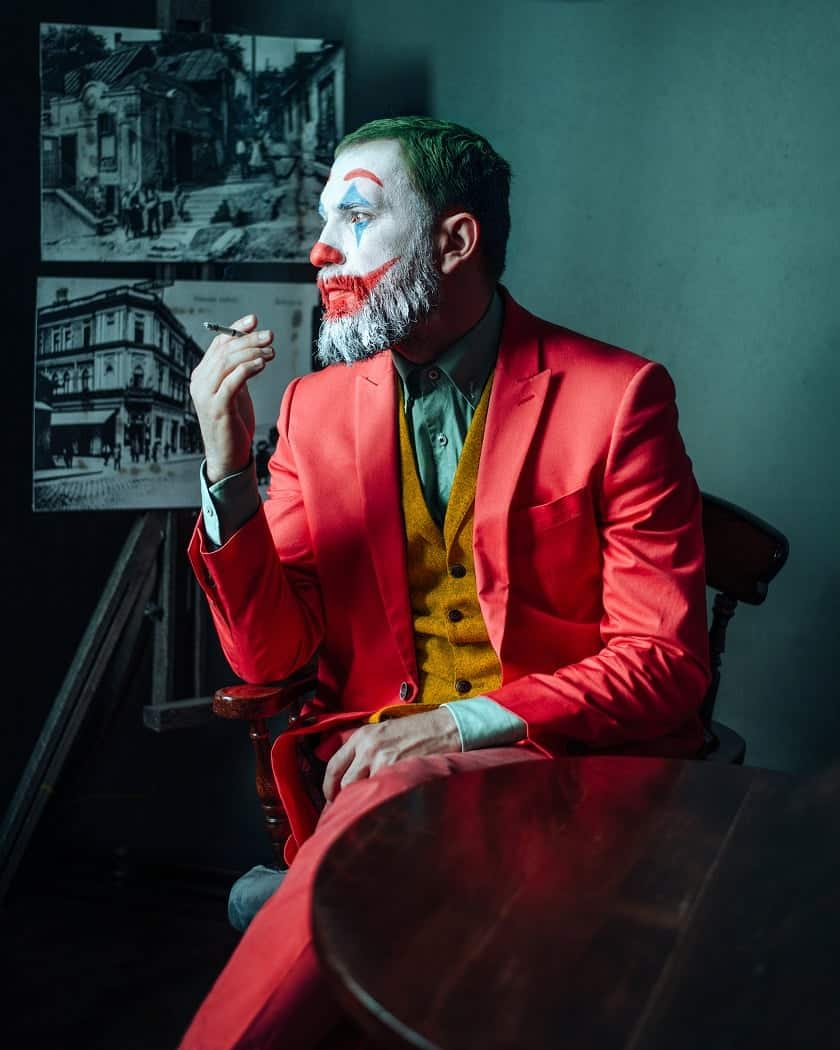 Joker Halloween ținută makeup