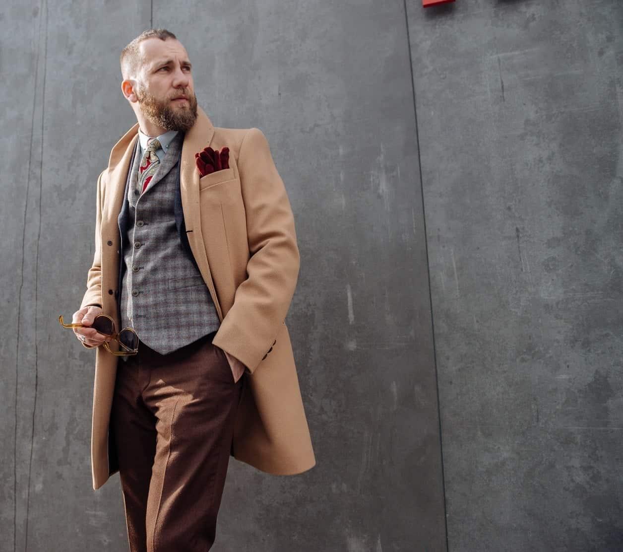 paltonul haina de iarnă stil masculin