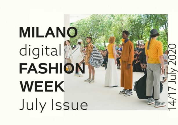 Milano digital fashion week 14-17 iulie 2020