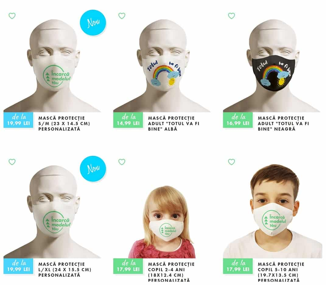 mască de protecție Daisler shop