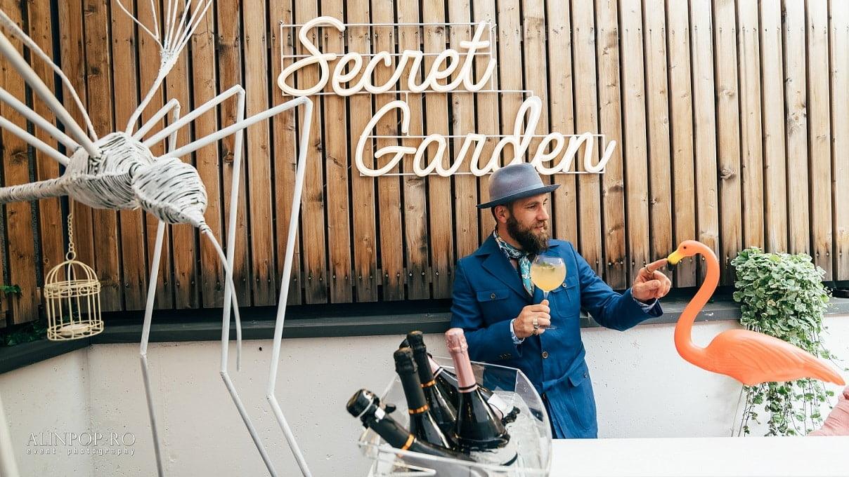 Secret Garden - o nouă locație de tip Gin&Tonic care s-a deschis în Cluj