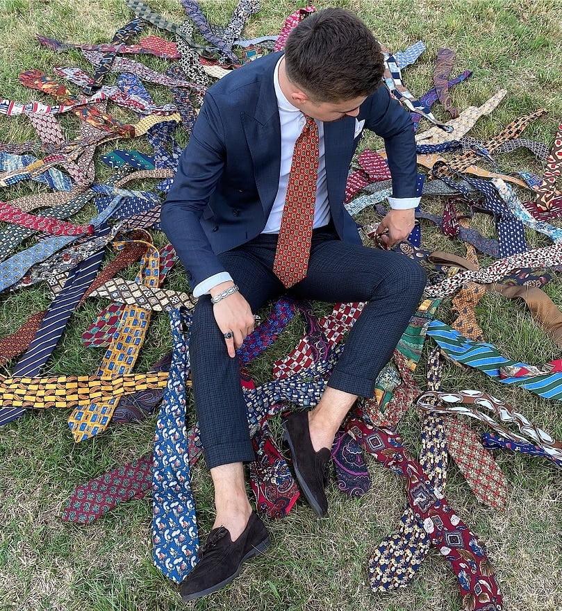 Colecționarul de 2000 de cravate
