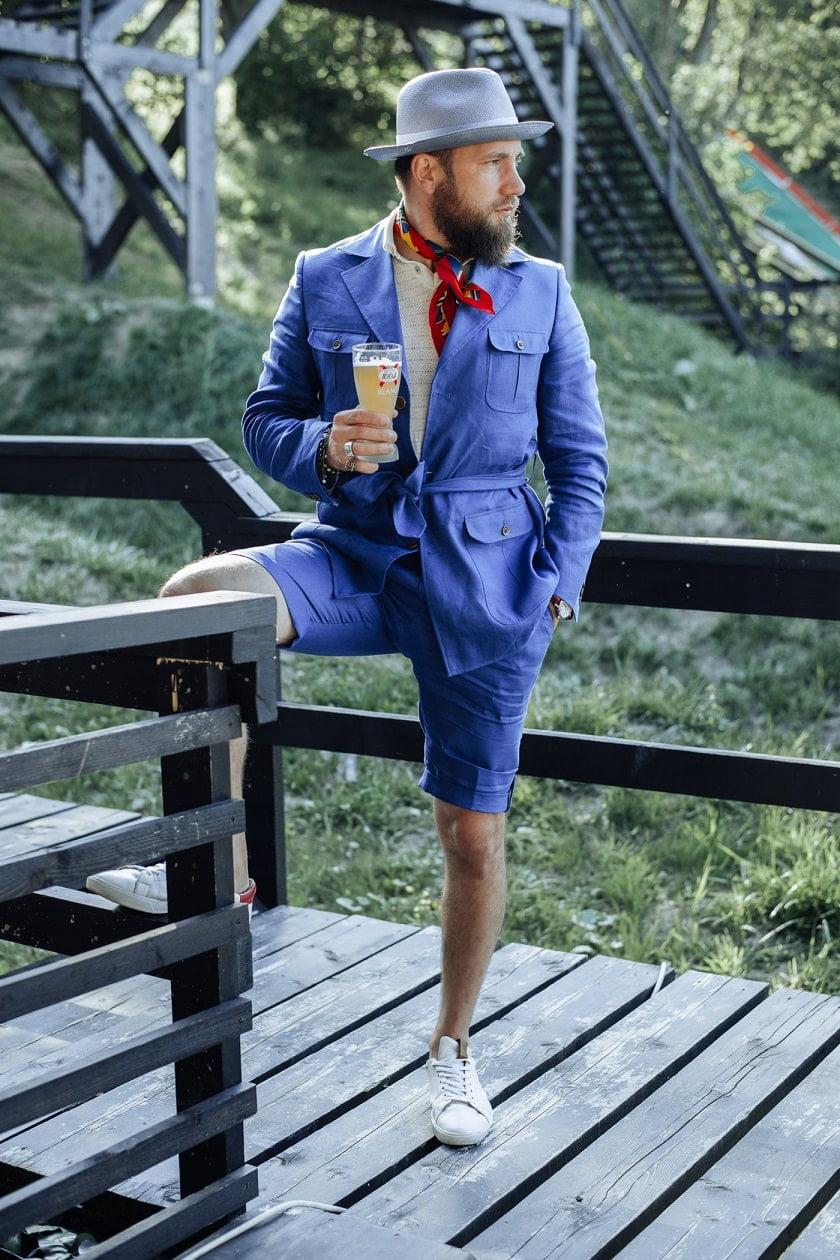 pantalonii scurți la comandă Stil Masculin