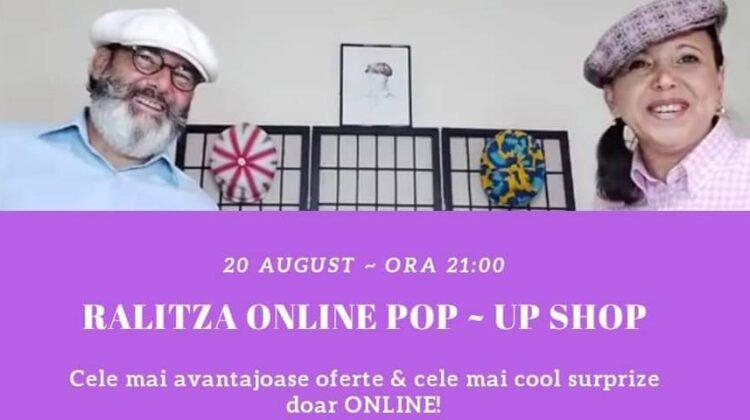 RALITZA ONLINE POP-UP SHOP în 20 august