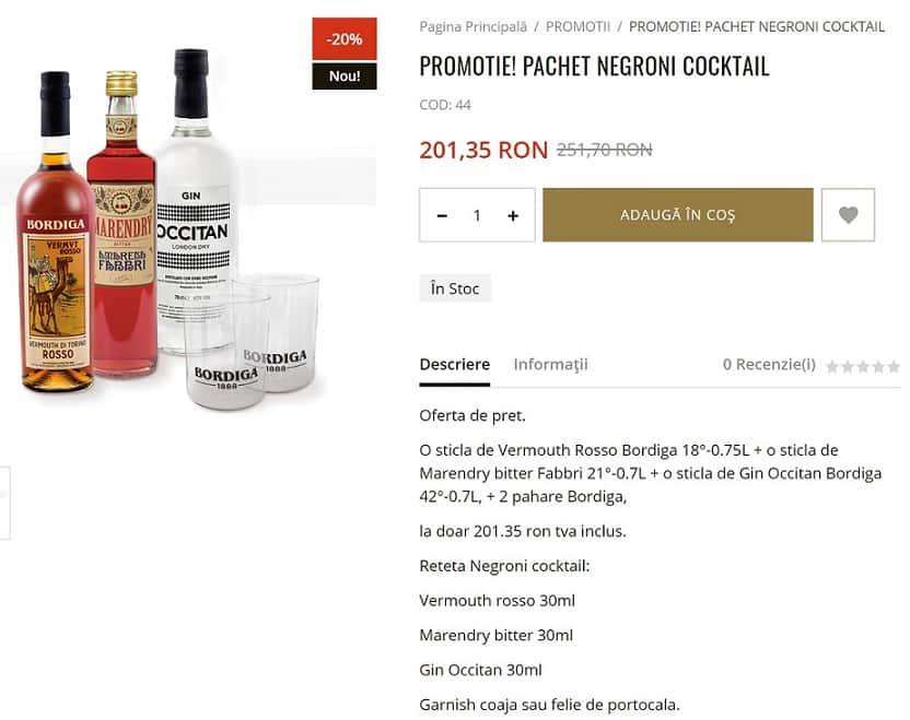 Promoție la băuturile de pe Bar-Mag.ro