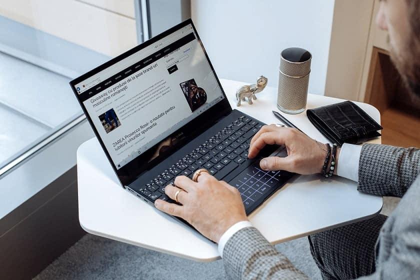 Review laptop ASUS ZenBook Flip 13 UX363EA