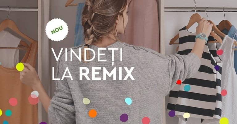 """""""Vindeți la Remix"""" hainele pe care nu le purtați și primiți plata imediat"""