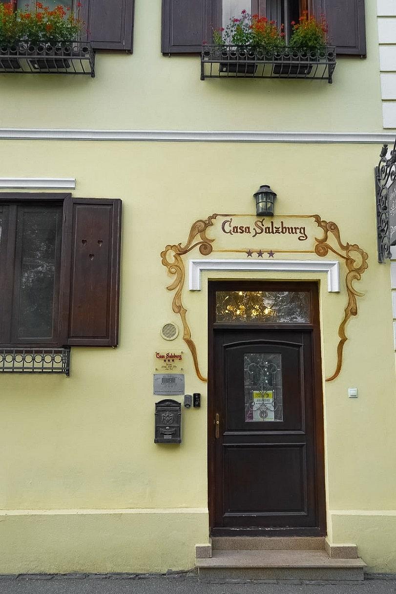 Casa Salzburg - locația centrală din Sibiu