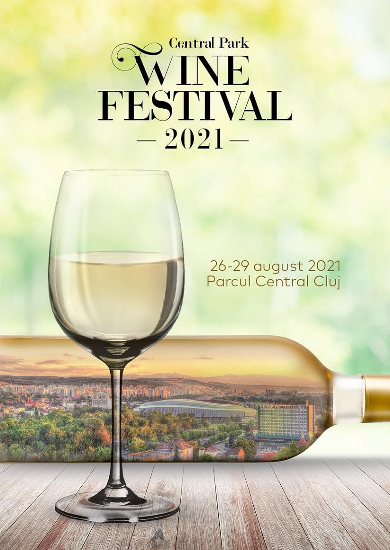 Central Park Wine Festival revine în Cluj-Napoca: final de august cu vin, muzică și show-uri spectaculoase